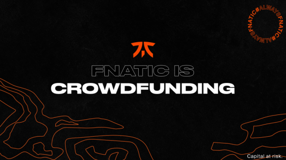 Fnatic raises $10 million and launches crowdfunding
