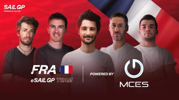 France SailGP Team crée son équipe d'eSailing