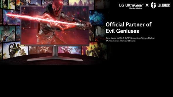 LG Electronics USA and Evil Geniuses