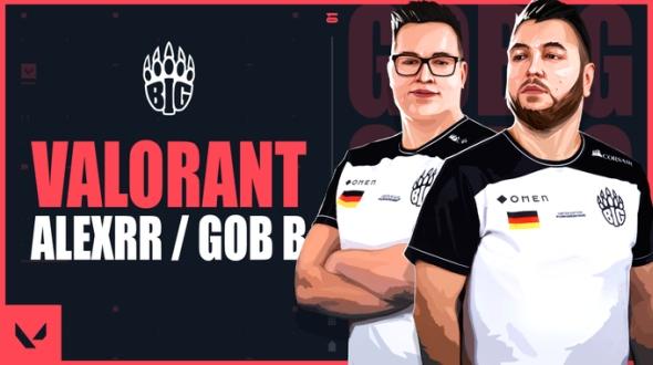 Der deutsche E-Sport-Clan BIG dass er neuen Besetzung bei Valorant eintreten!