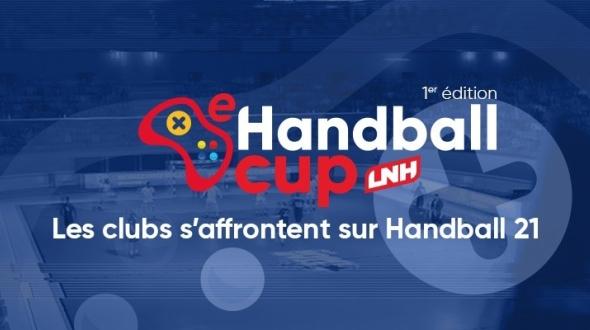 La LNH lance la e-Handball Cup avec la Team MCES
