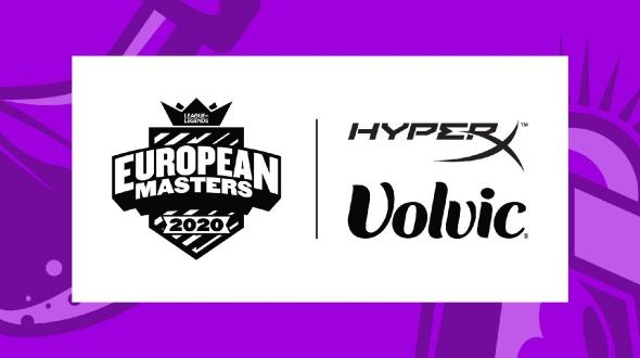 European Masters findet Unterst�tzung f�r den Sommer bei HyperX und Volvic Deutschland