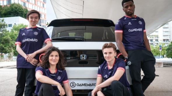 Honda France fait son entrée dans l'eSports avec GameWard