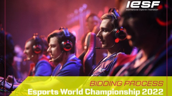 Bidding process for eSports World Championship 2022 launched by IESF