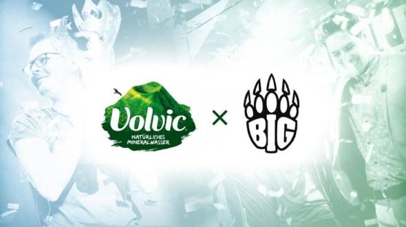 Volvic wird Partner von BIG League of Legends